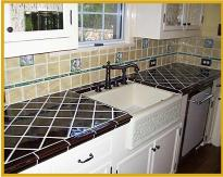 Tiled Kitchen
